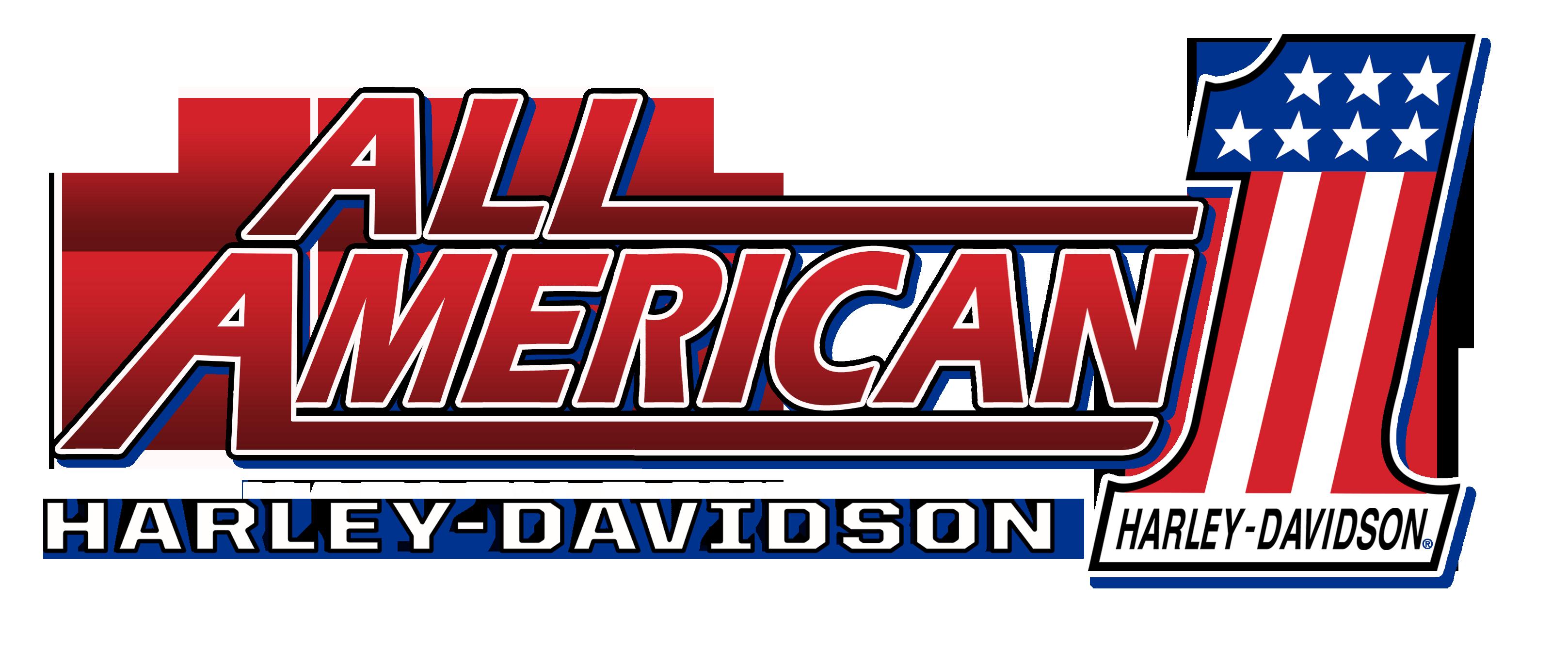All American Harley Davidson Logo