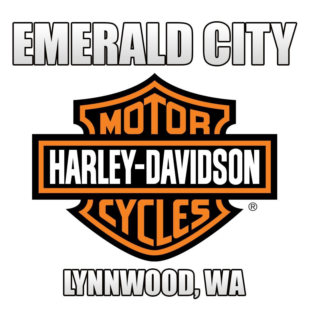 Emerald City Harley Davidson Logo