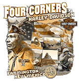 Four Corners Harley Davidson Logo