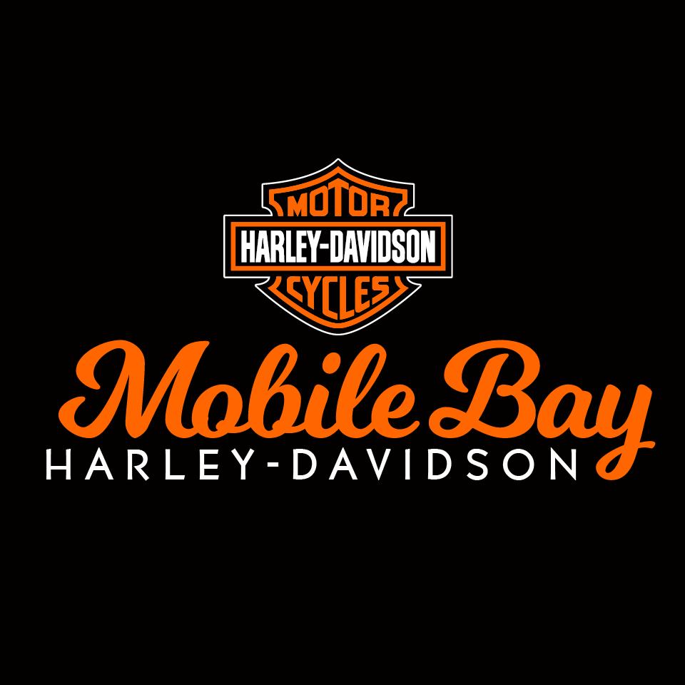 Mobile Bay Harley Davidson Logo