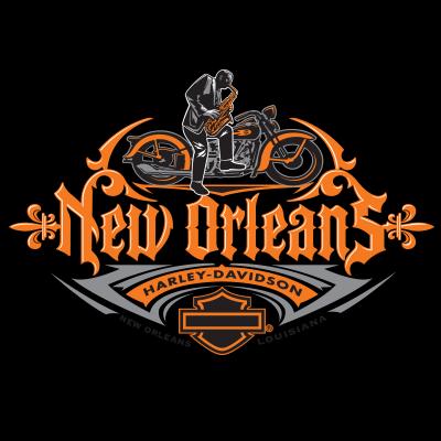 New Orleans Harley Davidson Logo