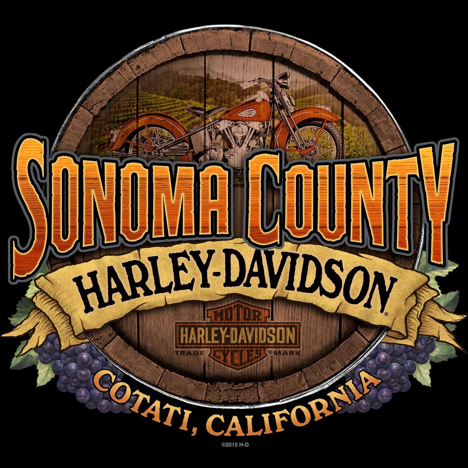 Sonoma County Harley Davidson Logo