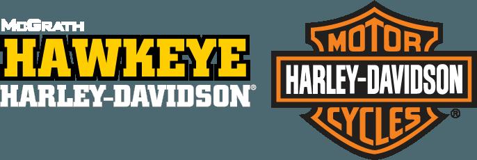 McGrath Hawkeye Harley Davidson Logo